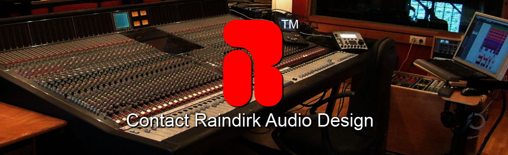 Contact Raindirk Audio Design England